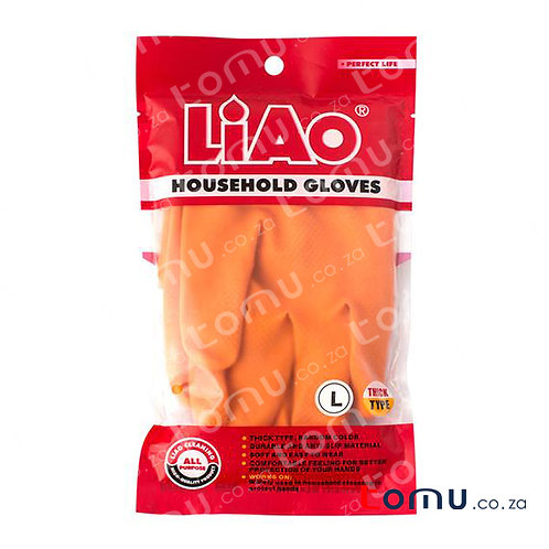 LiAo - Washing Glove (thick type, 4 colours selected) - 1 pair/pack - LAH130021