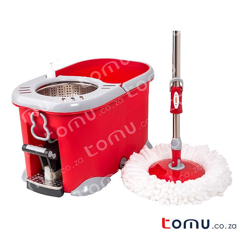 LiAo - Tornado Mop with Pedal (Stainless steel basket) - 8.0L - LAT130032