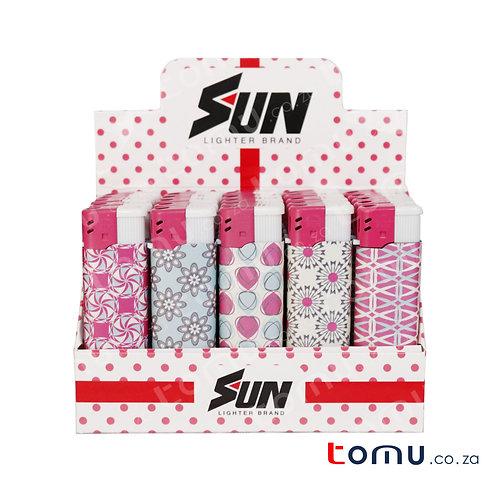 Sun Lighter - 25 per pack Pink Blossom - E033HFA
