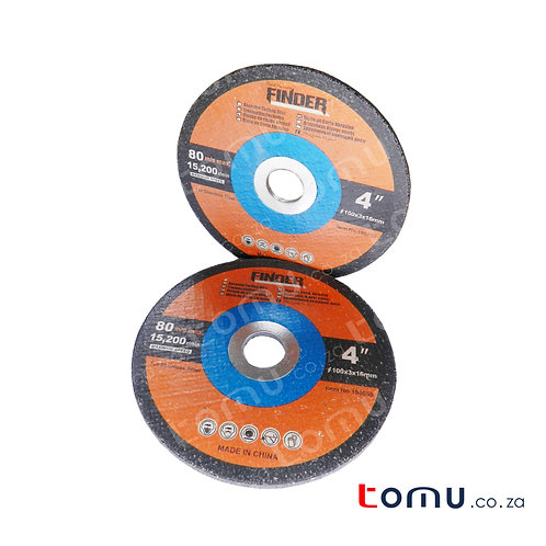 FINDER - (100 x 3 x 16mm) Abrasive Cutting Disc for Stainless - 196059