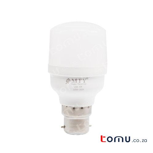 MTY - LED 5W White Light Bulb (90% Energy Saver) – 58805-B22