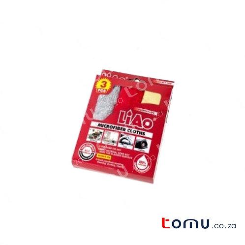 LiAo - Microfiber Cloths (30 x 30cm) - 3pcs/pack - LAG130019
