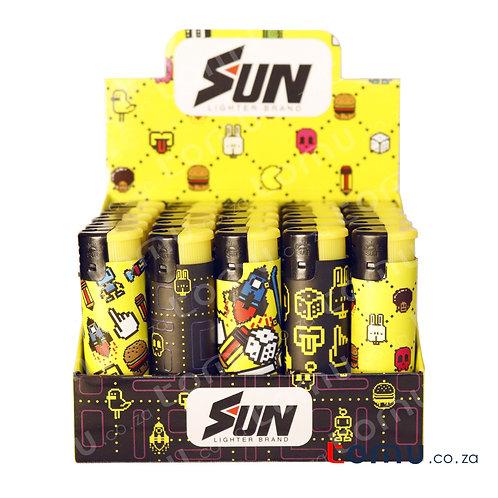 Sun Lighter - 25 per pack Retro Arcade - E035