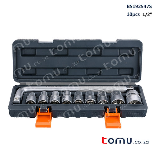 FINDER – 10pcs 1/2'' Dr. Socket Set – 192547