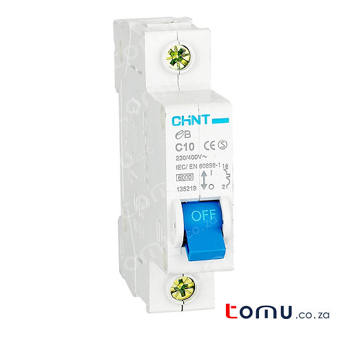 CHINT - 25A 3kA Miniature Circuit Breaker Single Pole – 188147