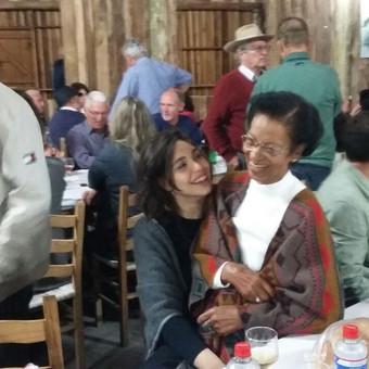 minha avó e eu