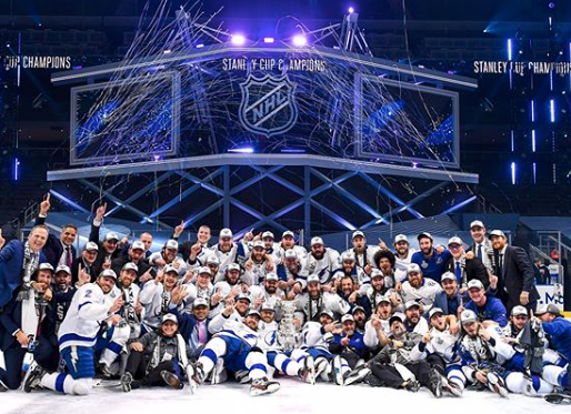 Tampa Bay Lightning Win 2020 Stanley Cup