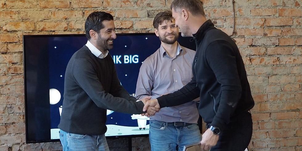 Think BIG workshop with Ercan Surenkok