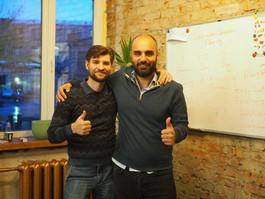 Vladimir Grutsanov and Mounir Azzi