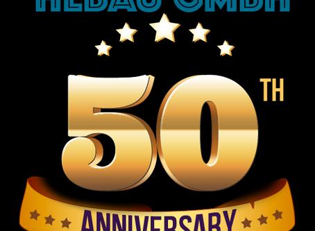 50 лет - новая веха в истории компании Hebau GmbH
