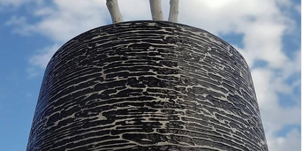 Pottery concrete: no formwork required.