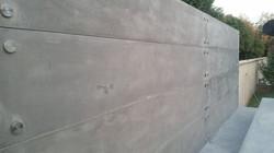 Concrete cladding panels