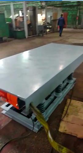 Вибростол с регулировкой частоты до 800 кг