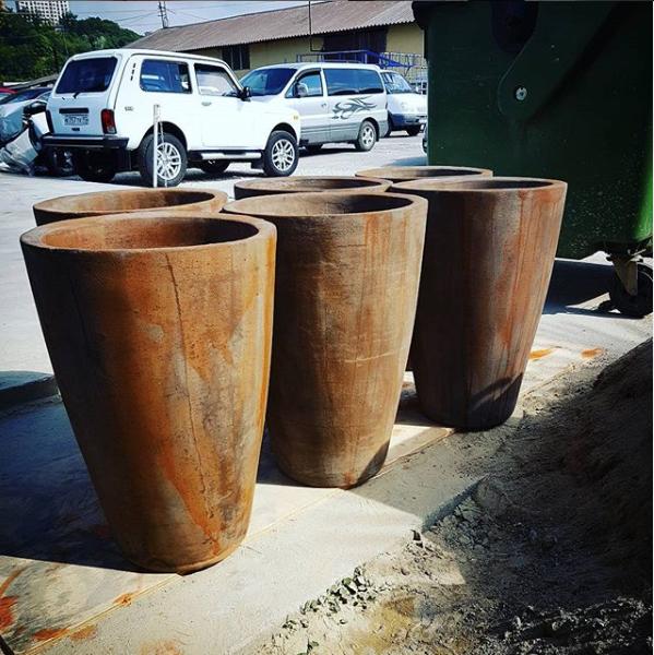 planters betoneed