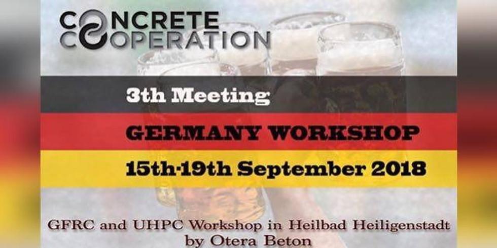 Международный мастер-класс GFRC&UHPC Concrete Cooperation 3rd Meeting