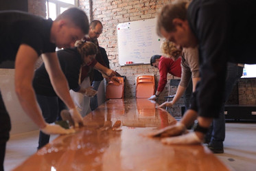 How to make countertop of concrete