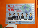 Weekend of concrete