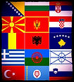 The Balkans Flags