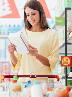 FIVE TIPS FOR HEALTHY GROCERY SHOPPING