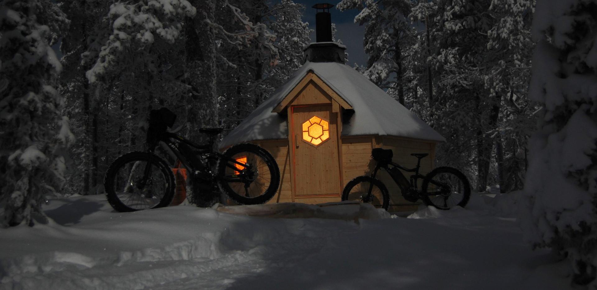 Break at the hut