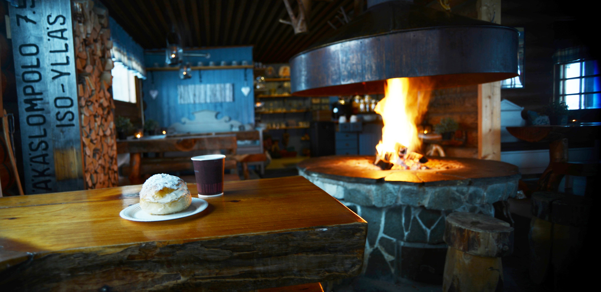Break at Wilderness Cafe Kotamaja