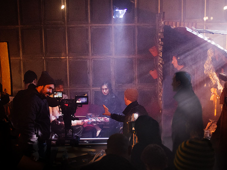 NOMADS and scenes from set!