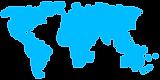 Carte du monde numérique