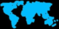 Mappa del mondo digitale