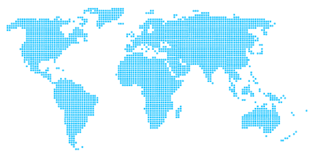 Mapa del mundo digital