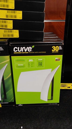 Mohu Curve Antenna - 30 Mile Range (STOCK SPECIAL)