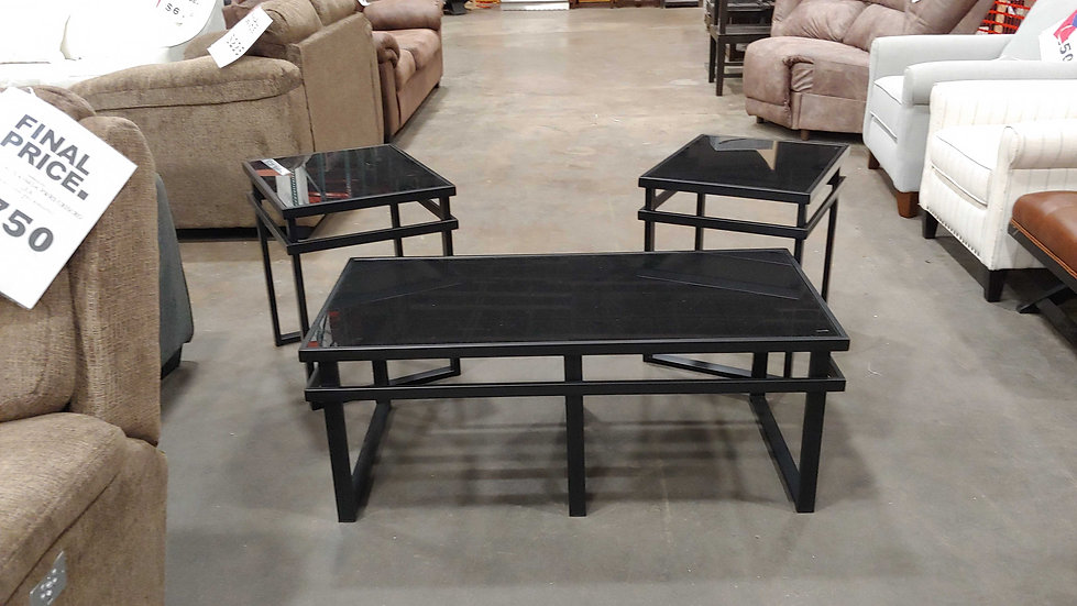 Ashley 3 Pack Occassional Table Set (STOCK SPECIAL)