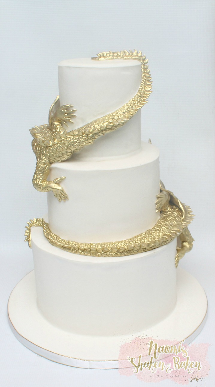 Dragon Wedding cake
