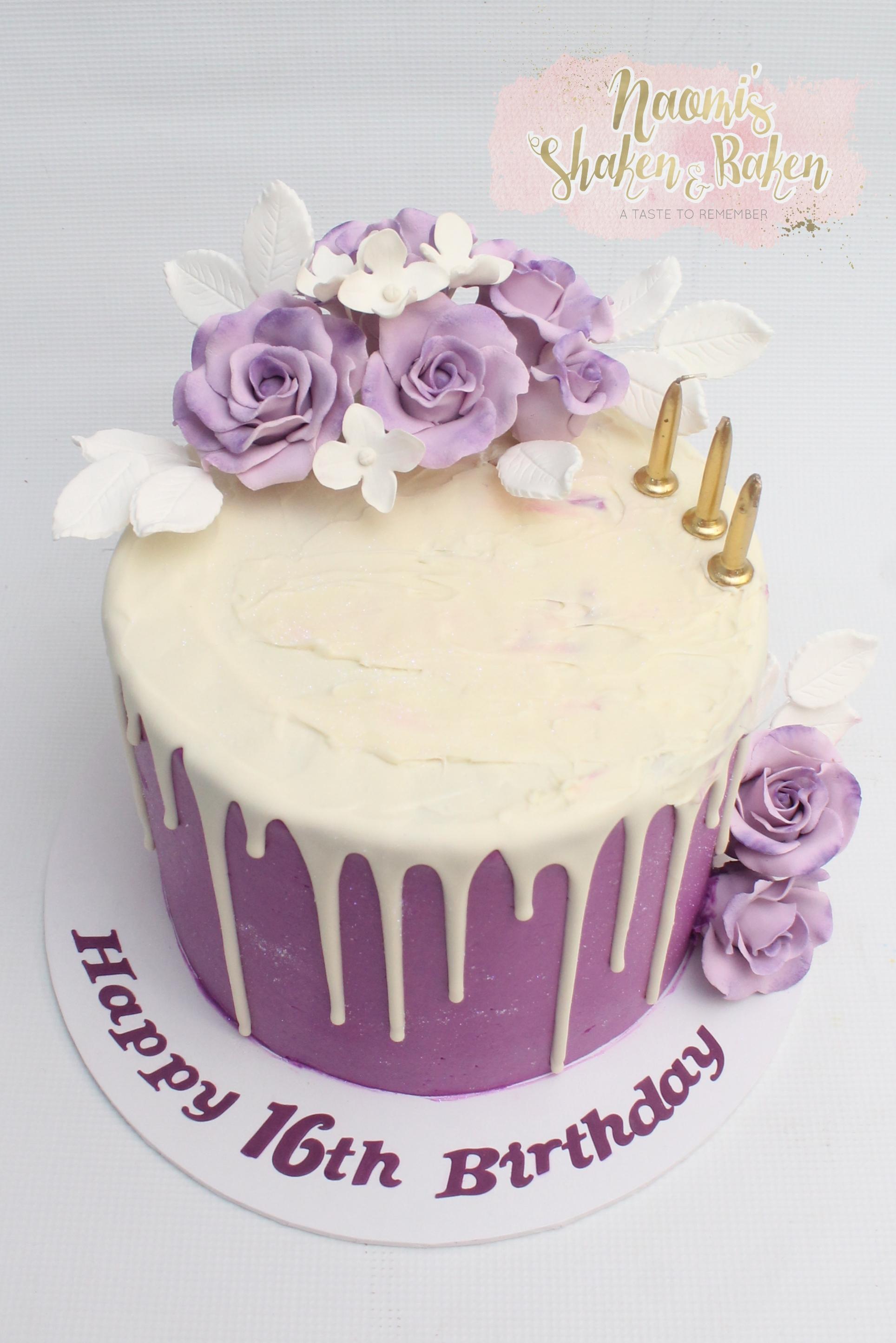 Sweet 16,16th Birthday Cake