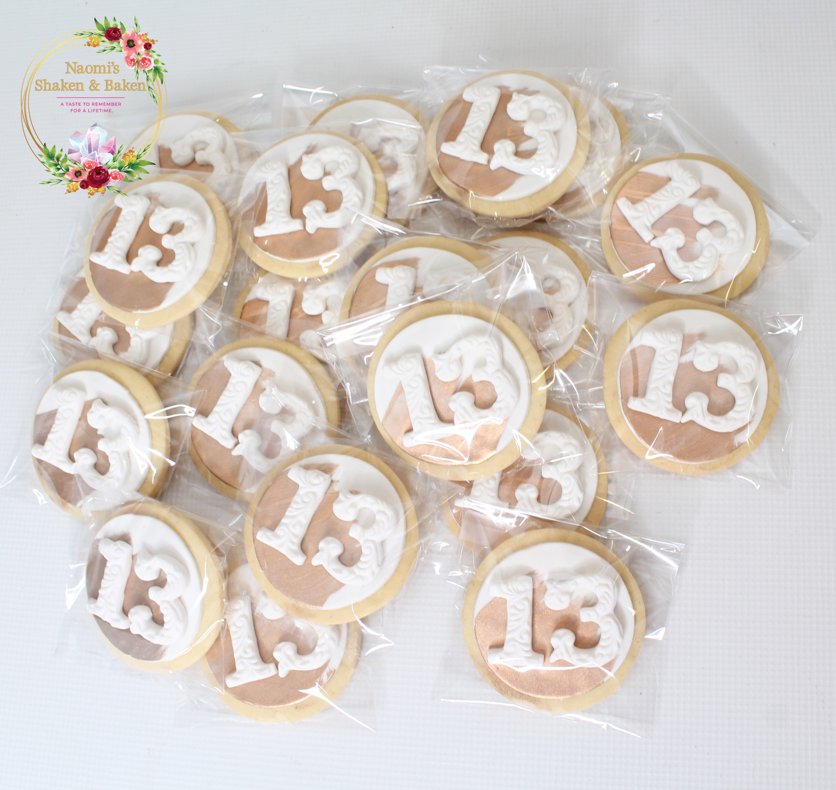 "Age on 3"" cookies Birthday Cookies Caboolture"