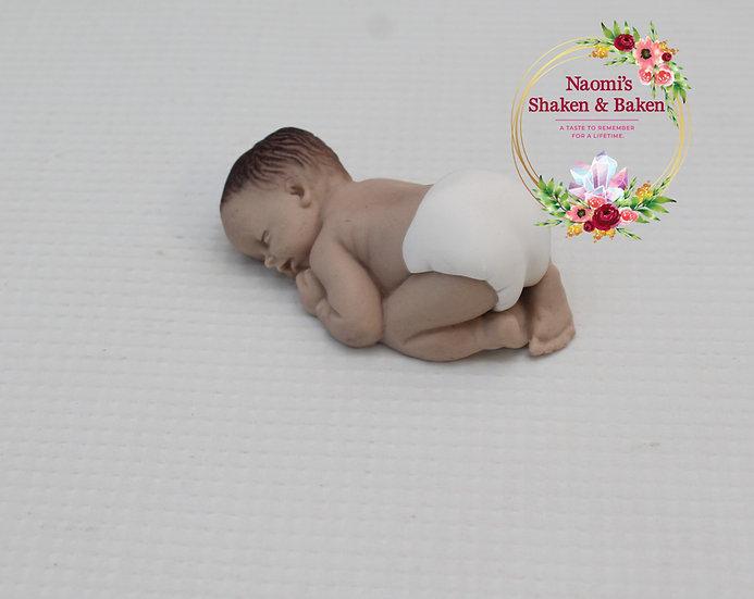1x 3D Edible Sugar Baby Cake Topper Baby Shower Ship Australia Wide