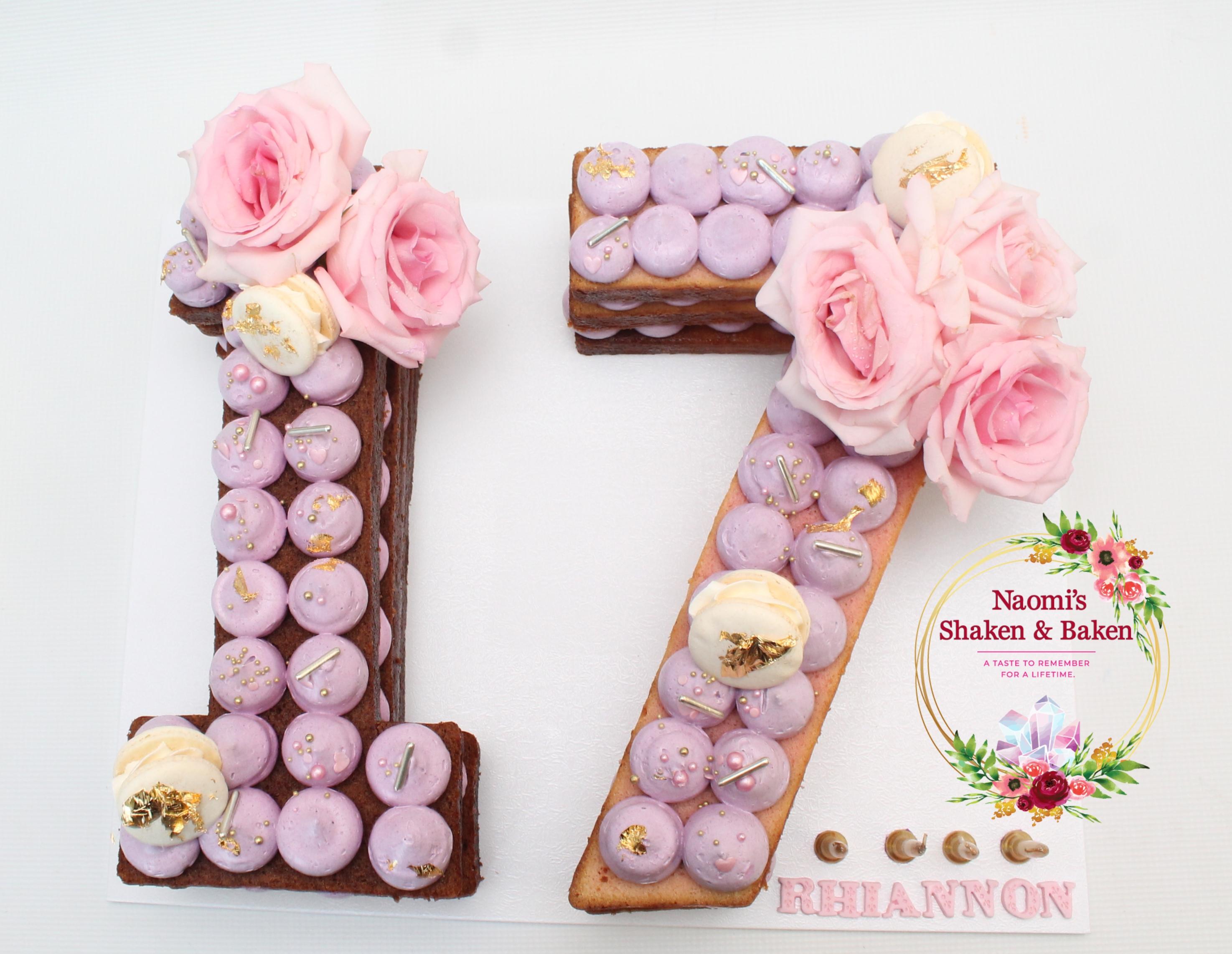 Number cake Caboolture Morayfield