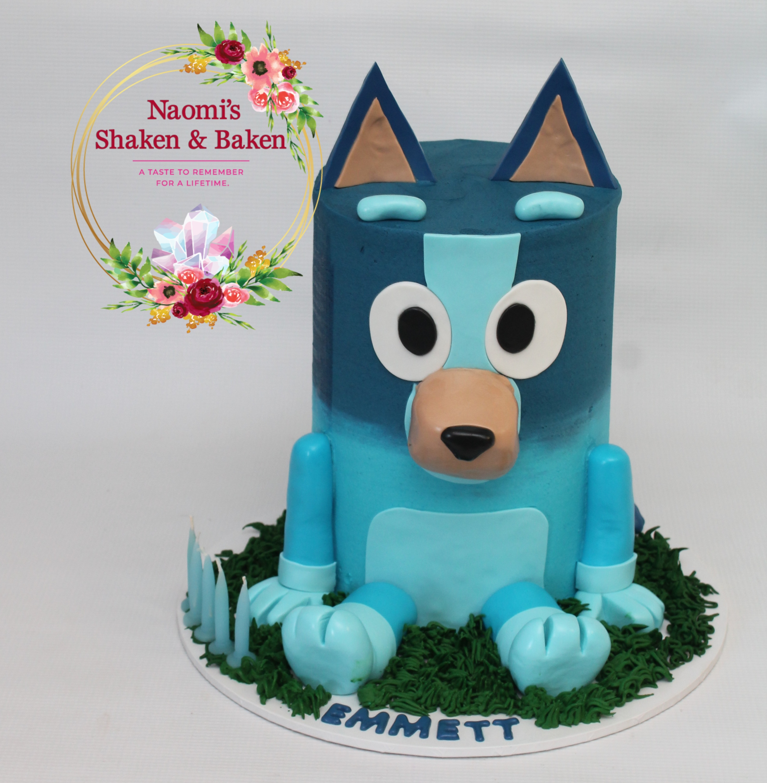 Bluey Birthday Cake Caboolutre
