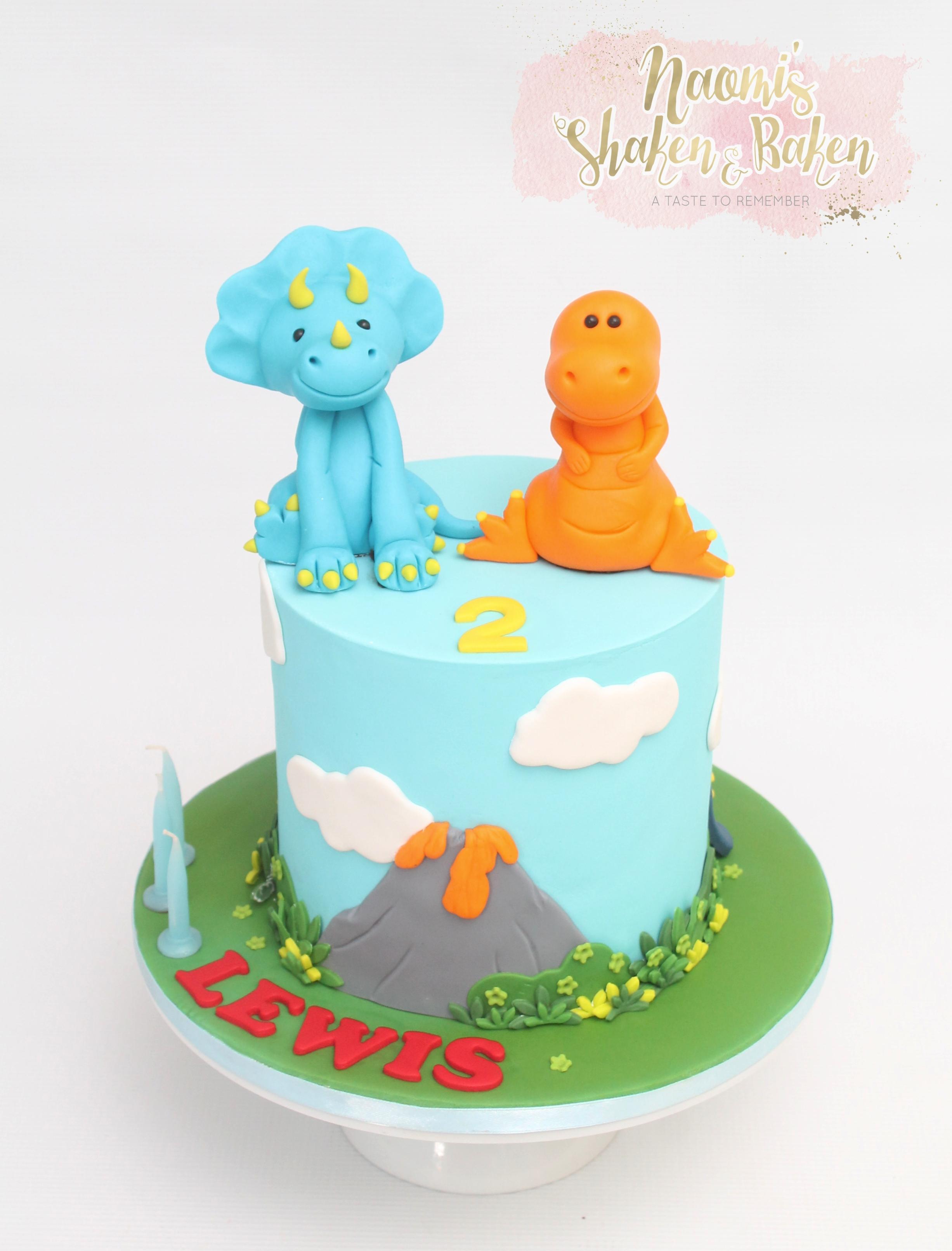 Dinosaur birthday cake Caboolture