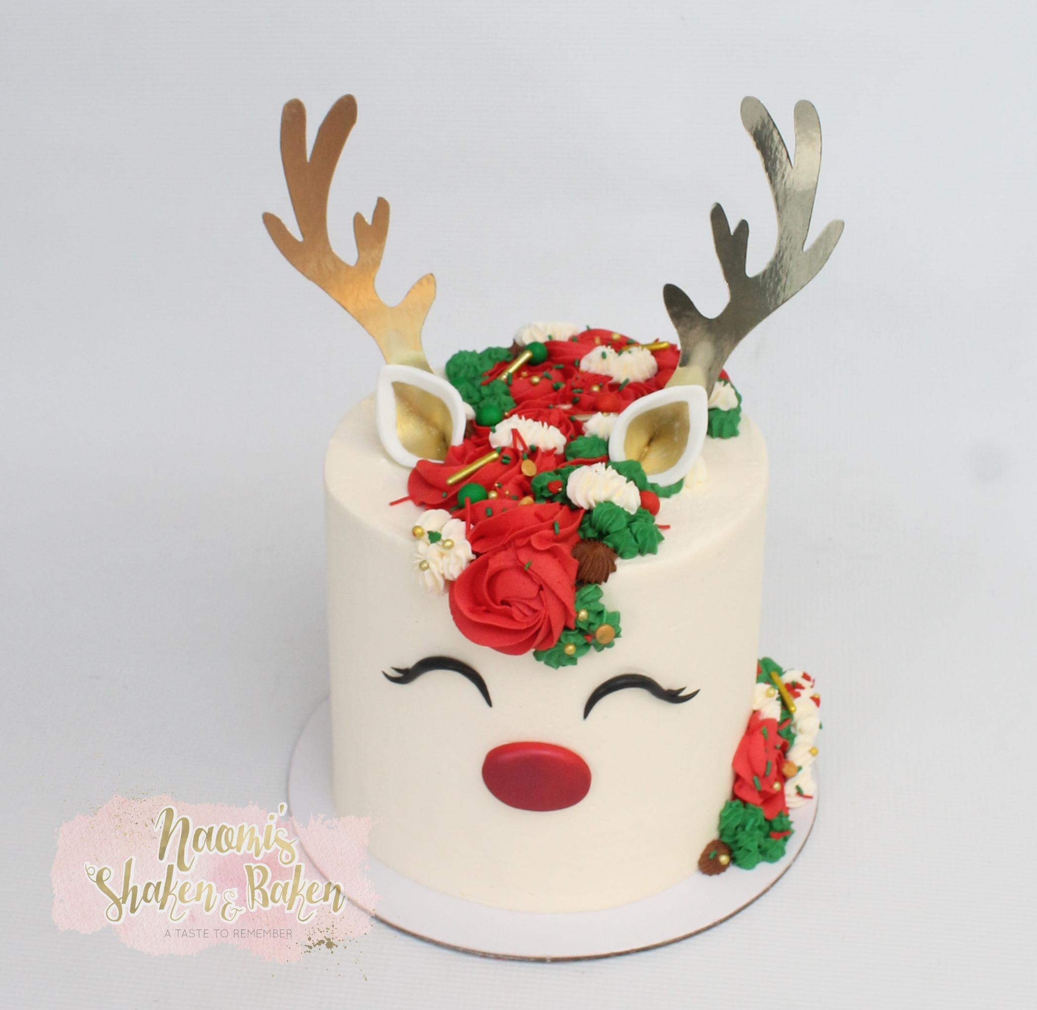 Reindeer Cake 2019