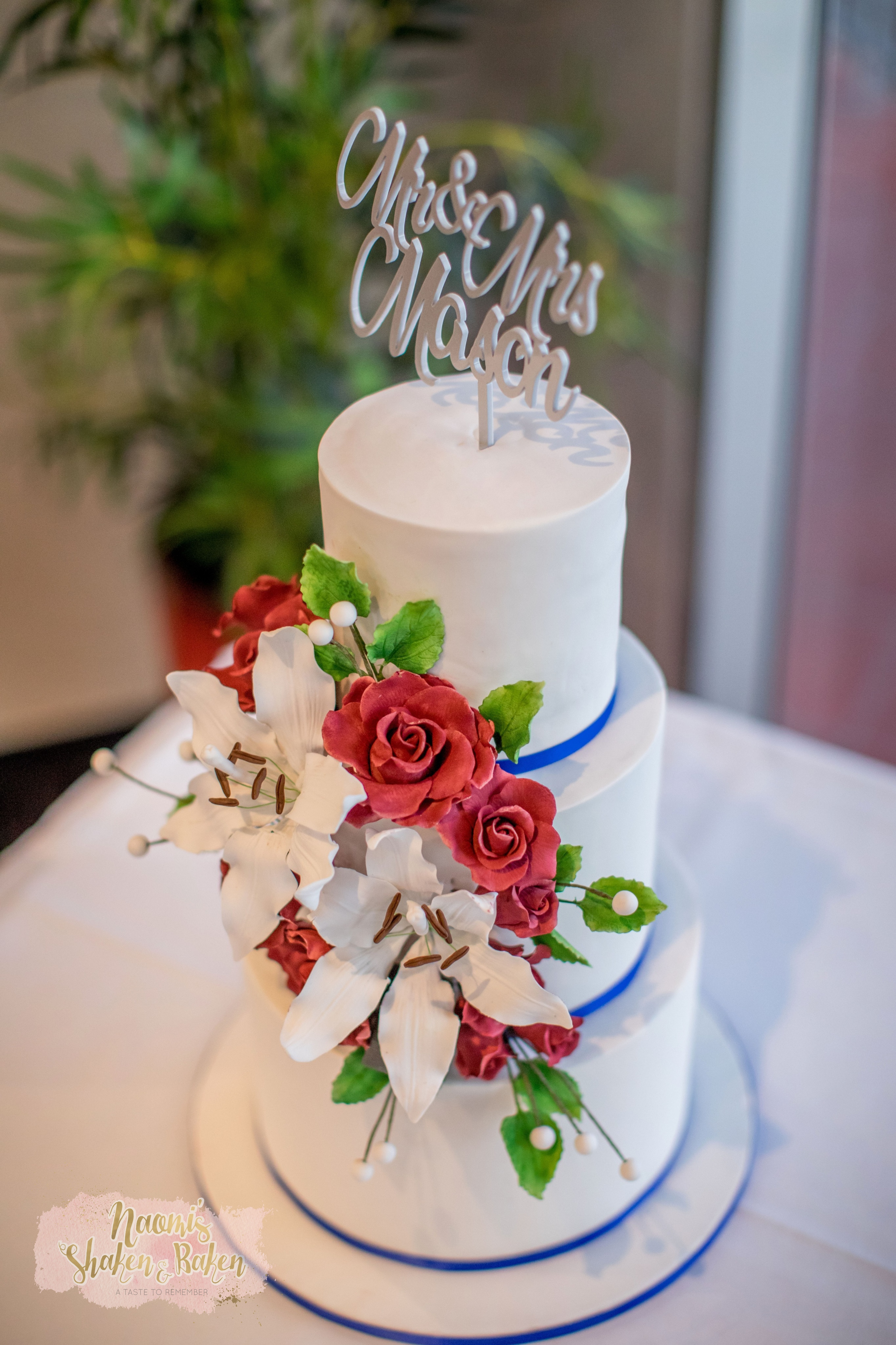 Moreton Bay Boat Club Wedding Cake