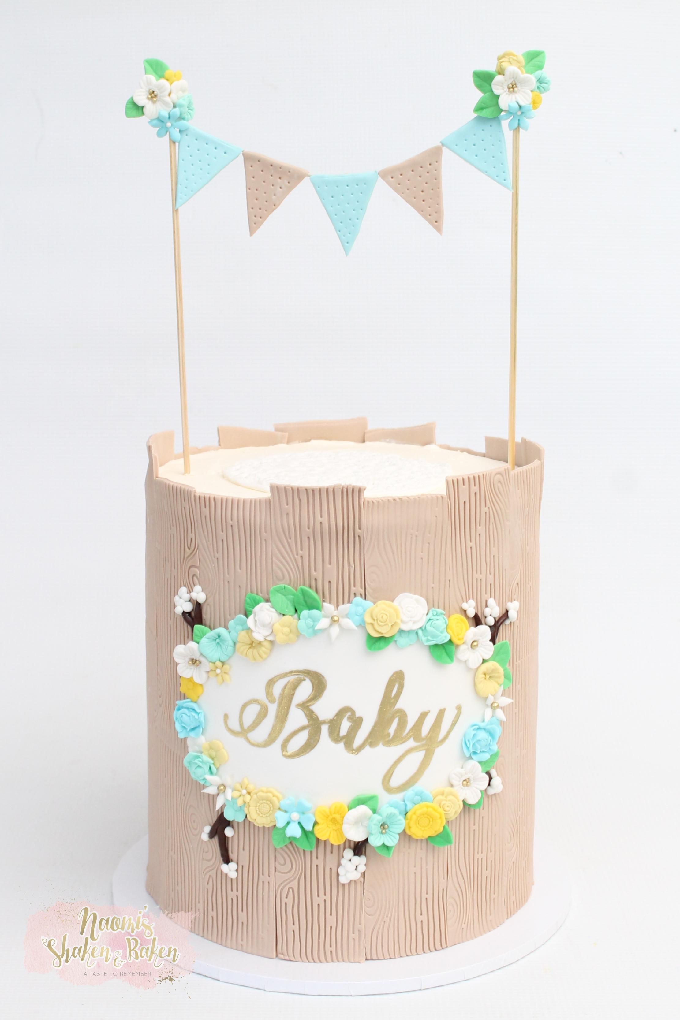 Boy Baby shower cake Caboolture