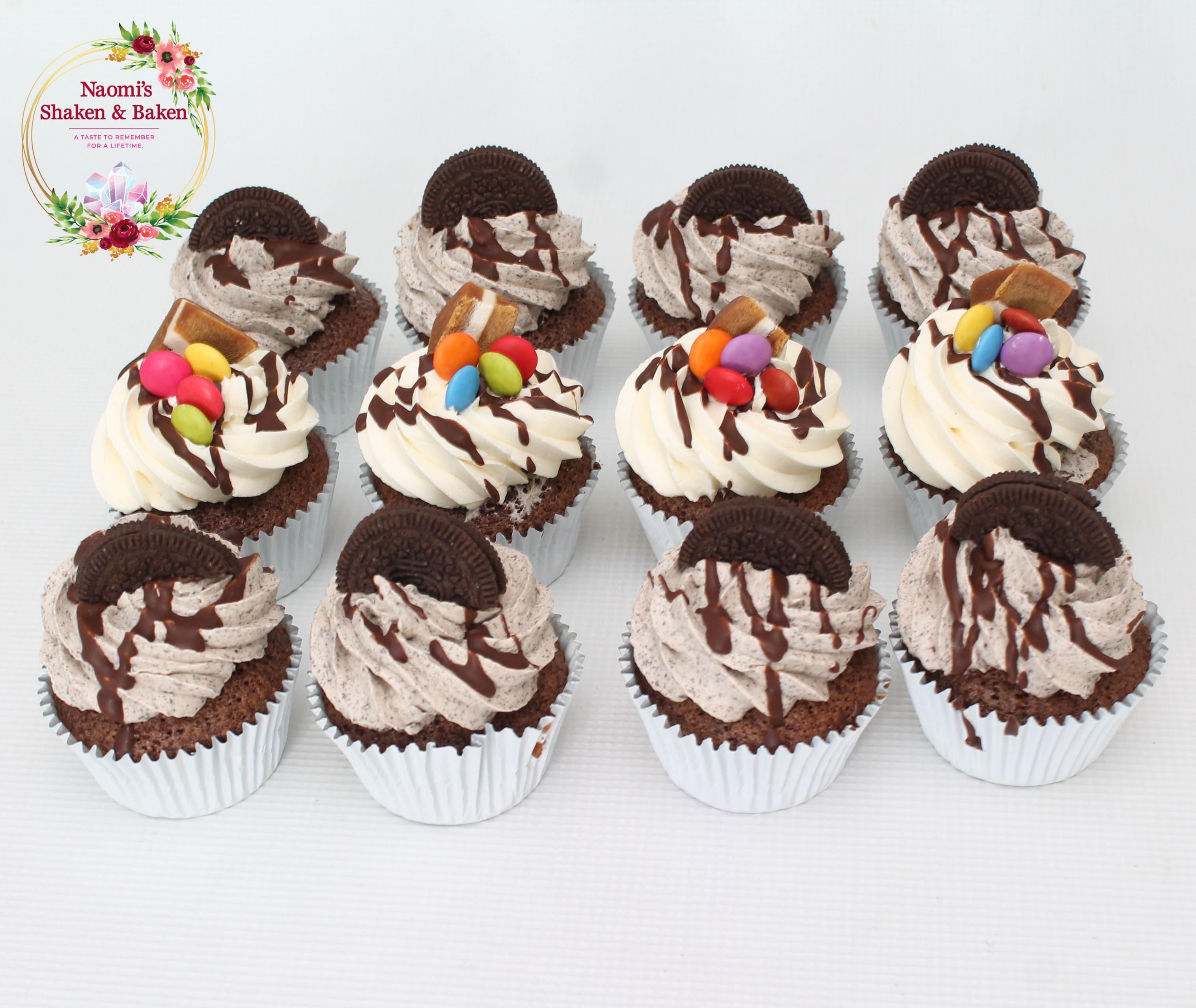 Cho Oreo Cupcakes