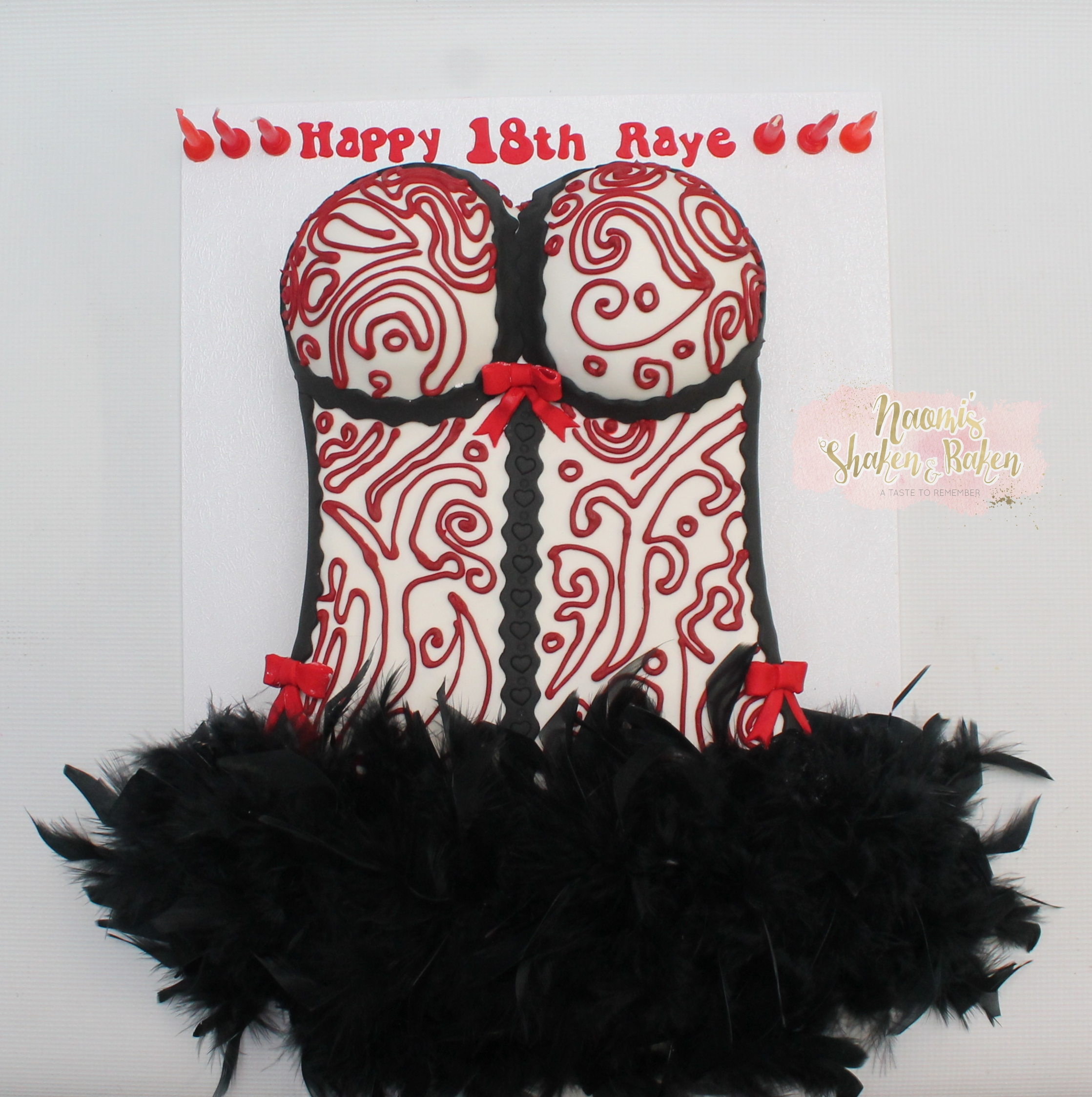 Corset Cake for 18th birthday