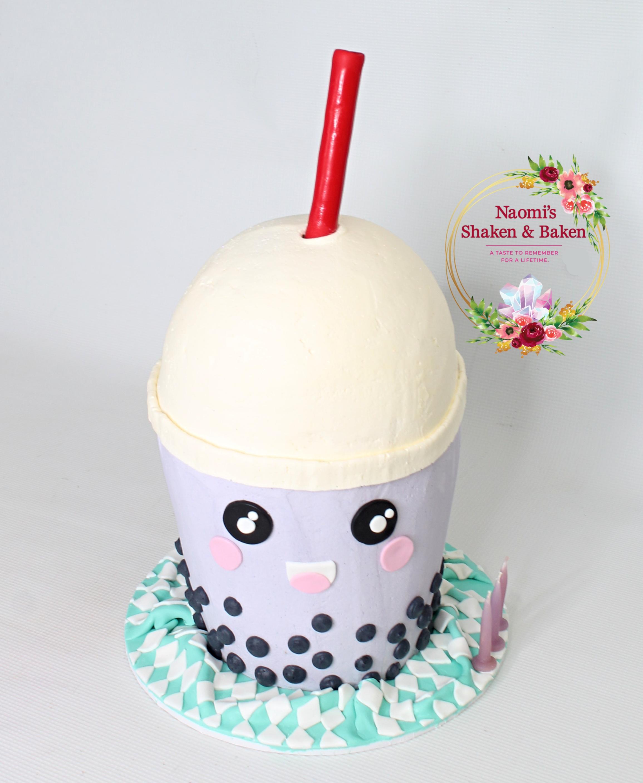 3D Kawaii Bubble Tara Tea Cake Caboolture