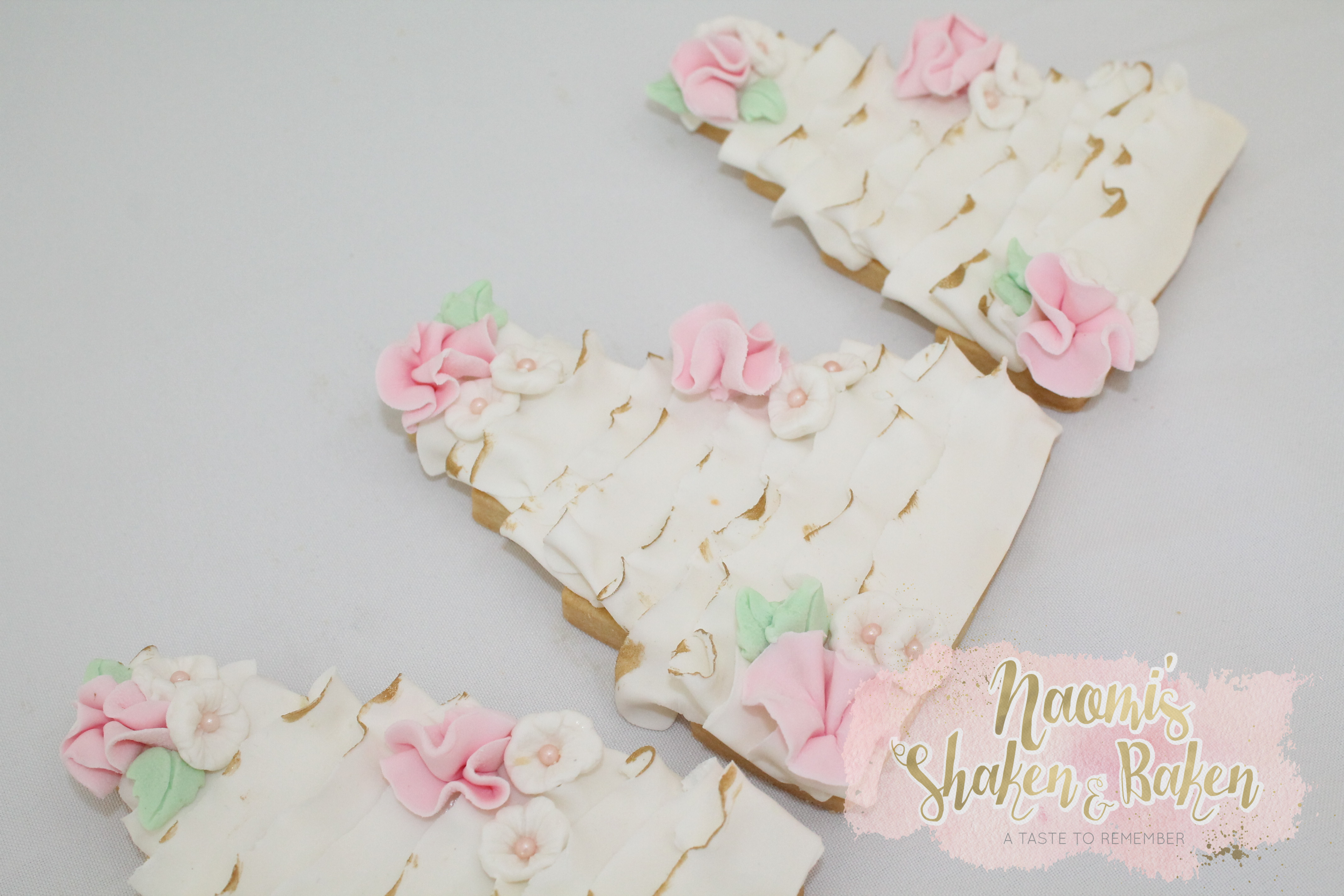 Wedding bonbonerie cookies