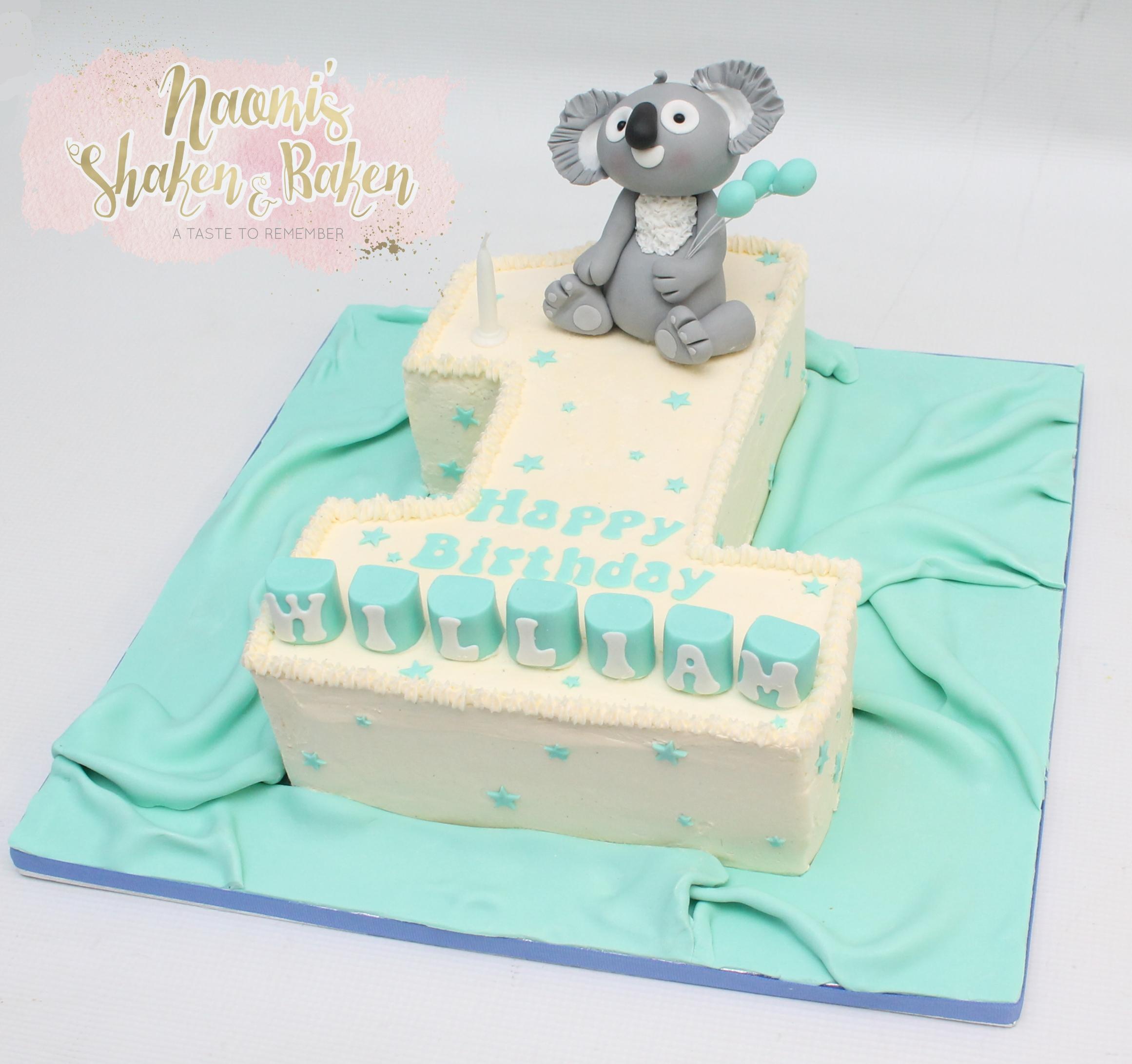 1st Birthday cake Caboolture