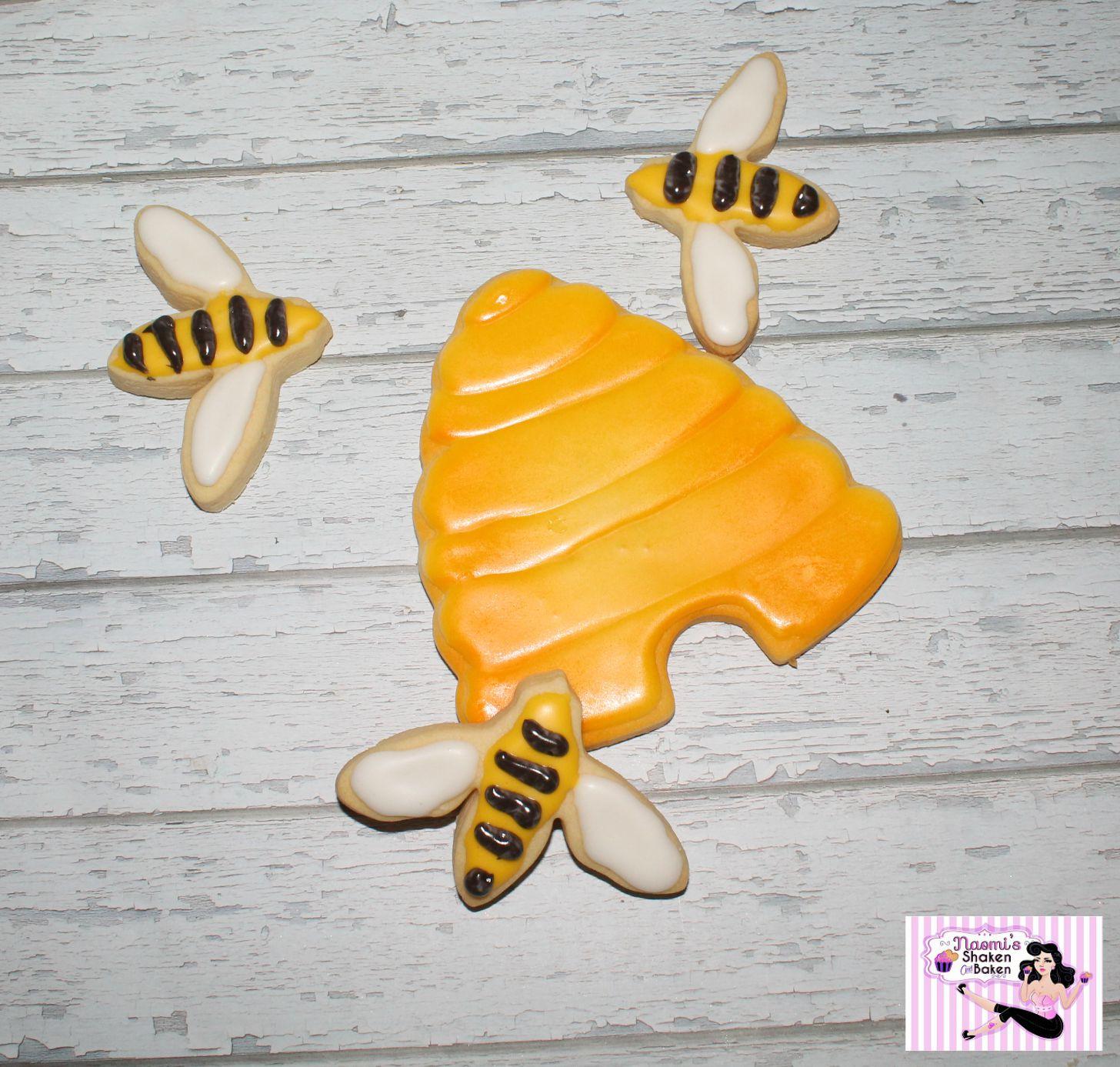 Bee's & Hive cookies