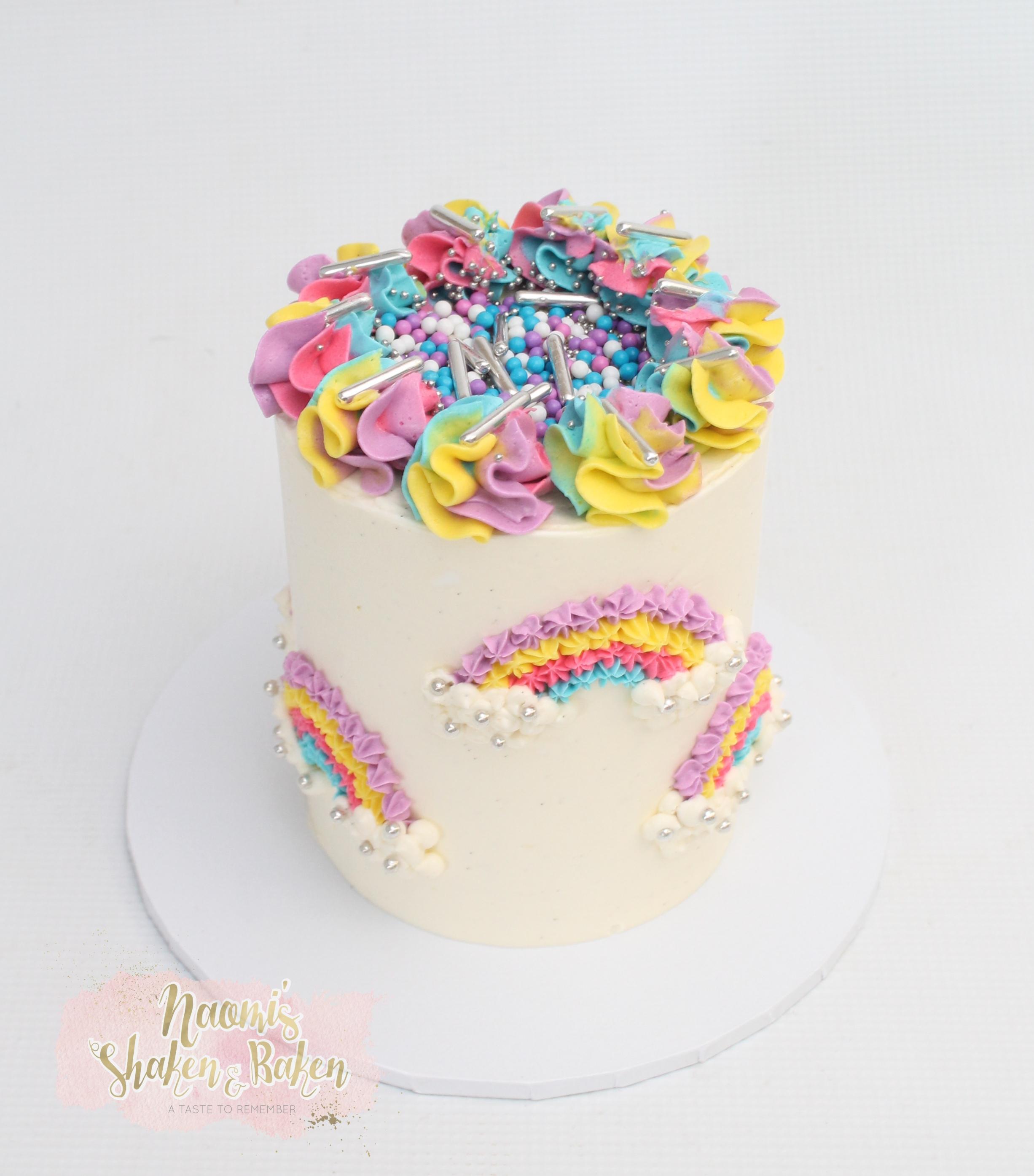 Rainbow Birthday Cake Caboolture