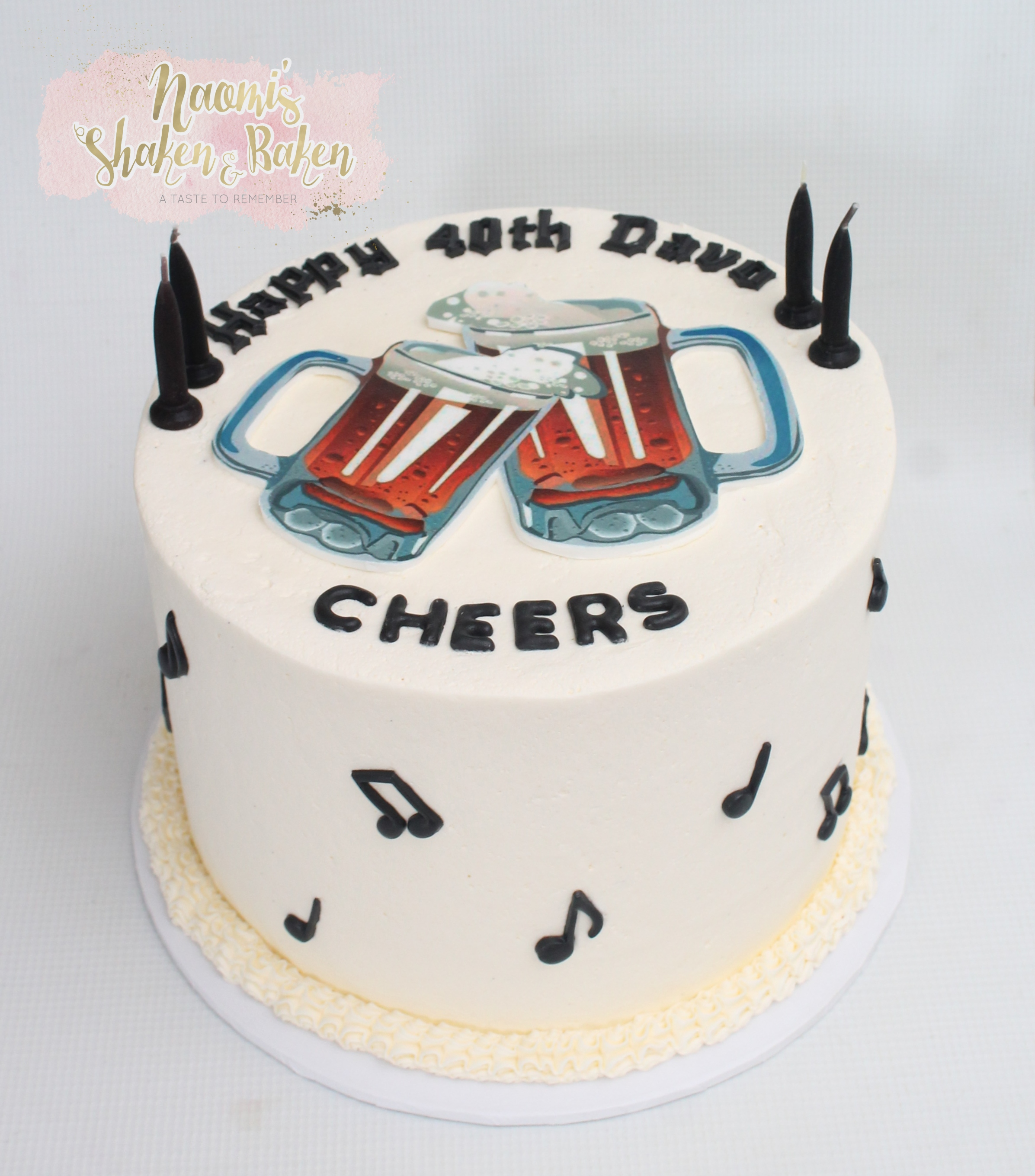 Beer Birthday Cake Morayfield