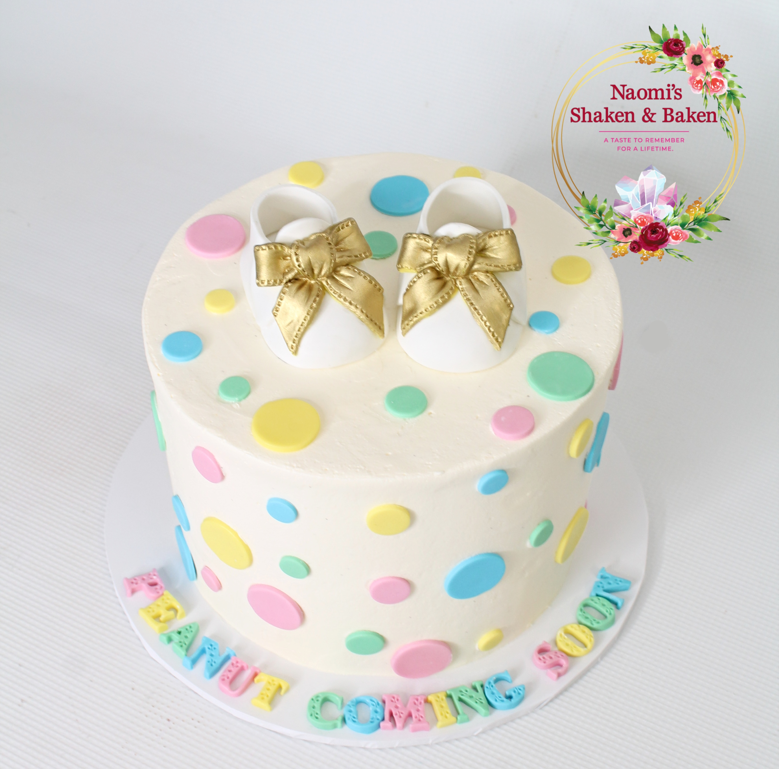 Baby Shower Cake Morayfield Caboolrture
